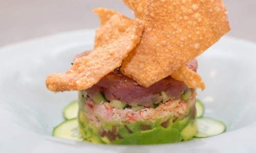 Crab & Ahi Tower